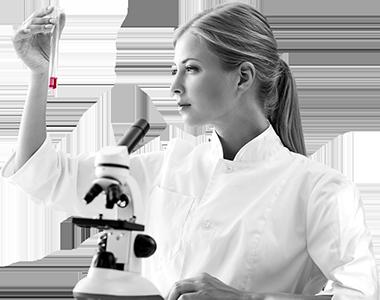 Laboratorní rozbor šafránové čnělky